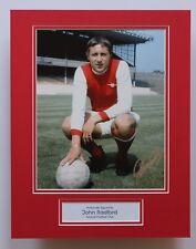 JOHN RADFORD In Arsenal Shirt HAND SIGNED Autograph Photo Mount Display COA