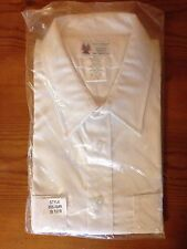 American Airlines Style 555 AMR White Uniform Short-Sleeve Shirt size 18-1/2 R