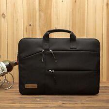 "US SLIM BUSINESS 15.6"" LAPTOP BAG NOTEBOOK MACBook ALIENWARE CARRY CASE BLACK"