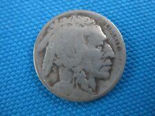1916 D Buffalo Nickel US 5 Cent Coin
