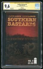 Southern Bastards #9 - CGC SS 9.6 NM+ - 2015 - Signed Aaron & Latour! Variant!