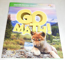 Houghton Mifflin Harcourt Go Math Common Core Grade 1 Chapter 8 Teacher Edition