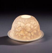 """Dome Light  """"Frangipani"""" Ø 12cm, Höhe 7cm NEU Teelichthalter Dekoration Licht"""