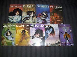 Lot de 9 mangas Gunnm - Yukito Kishiro - Glenat