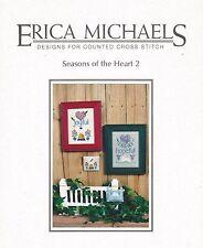 Seasons of the Heart 2 Joyful Heartful Bees Cross Stitch Charts