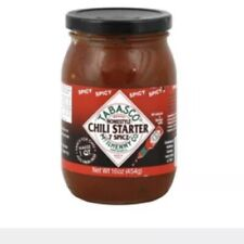 Tabasco Seven Spice Chili Spicy Chili Starter, 16 oz. (Pack of 3) by TABASCO ...