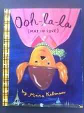 Ooh-la-la Max In Love By Maira Kalman Children's Book About Paris France