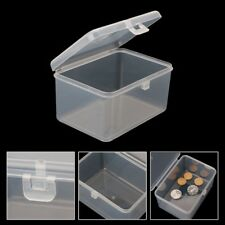 Clear Plastic Box Transparent Container Storage Blank Component Screw Jewelry
