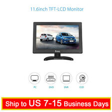 "Eyoyo 12"" TFT LCD Monitor with AV HDMI BNC VGA Input 1366x768  for PC CCTV Game"