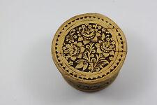 NEW Handmade Beautiful Russian Small Wooden Birch Tree Bark Jewelry Box, Gift