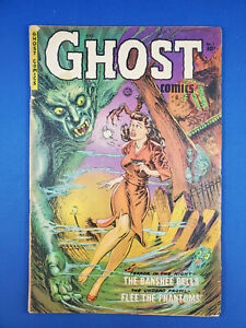 GHOST COMICS 1 VG FICTION HOUSE 1951 FIRST ISSUE