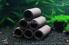Ceramic Fish Shrimp Spawn Breeding Hiding Cave Shelter Tube Aquarium Decor CA