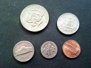 USA Mixed silver collection,  very good condition