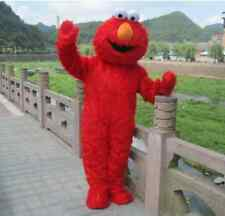 High quality Sesame Street Red Elmo Monster mascot costume Cartoon Fancy Dress