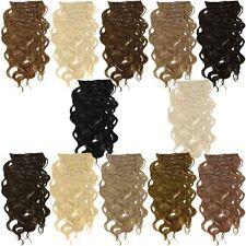 Gewellte Haarverlängerungen im Bündel (gelockt)-Stil