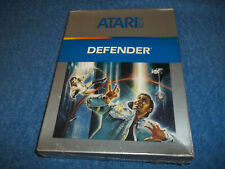 BRAND NEW ( NOS ) IN FACTORY SEALED & S/W BOX ATARI 5200 DEFENDER GAME