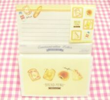 Bread Menu Letter Set / Made in Japan DAISO Stationery