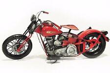 Handmade Harley Davidson Motorcycles 1:8 Tinplate Antique Style Metal Model