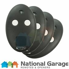 BFT Mitto 2M & 4M Rolling Code Garage Door Remote Control 2 Button Keyring x4