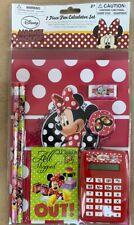 Disney    Calculator Set 7 Piece Minnie Mouse