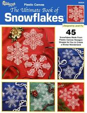 Ultimate Book of Snowflakes ~ 45 Snowflake Designs plastic canvas patterns Rare