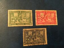 Stamps,  Norway, SC#96-98, used