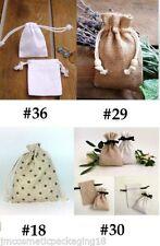 Bolsas de color principal blanco para regalos