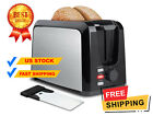 Toaster 2 Slice Stainless Steel, Toaster with Removable Crumb Tray Wide Slot photo