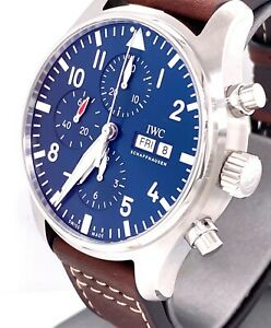 """IWC PILOT'S WATCH CHRONOGRAPH EDITION """"LE PETIT PRINCE""""  IW377714 - BRAND NEW !"""