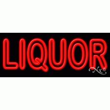 "New ""Liquor"" 32x13 Real Neon Sign w/Custom Options 11436"