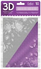 Rambling Rose Embossing Folder Crafter's Companion Embossing Folders 3d 5x7