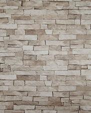 NEU Tapete 05546-10 Steine Mauer Steinoptik Klinker Bruchsteine beige braun