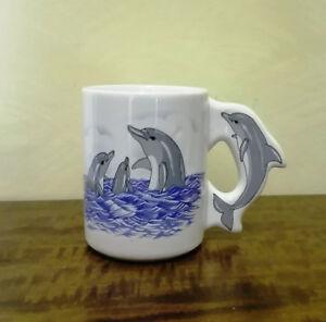Tazza Mug Ceramica Delfino Delfini collez. pers.