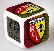 Réveil numerique Digital RC Lens Cube à effet lumineux alarme football