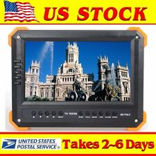 "USA X41TA 7"" LCD HD-AHD,TVI,CVBS,HDMI,VGA Camera Monitor Video Tester 12V-Output"