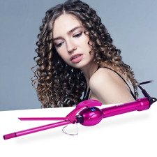 9mm Mini Curling Iron, Small Barrel Curling Tongs Afro Hair Curler for Men and