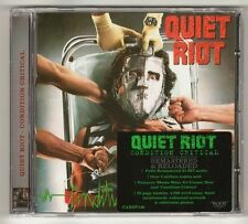 QUIET RIOT 'CONDITION CRITICAL' REMASTERED ROCK CANDY 2012 NEW! SEALED