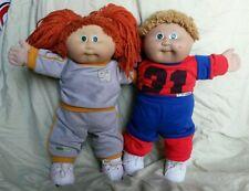 "Lot 2 LILI LEDY 1983 cabbage patch kids 16"" dolls - mexican dolls"
