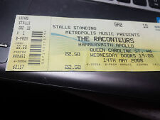 The Raconteurs (Jack White) ticket, Hammersmith Apollo, London, May 2008, unused