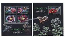 Postfrische Briefmarken mit Tier-Motiven aus der zentralafrikanischen Republik