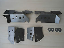BMW E46 Subframe Chassis Repair Reinforcement Plate Kit M3, 330i  320i