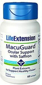 Life Extension Macuguard Ocular Support, 60 Softgels (2 60 Count (Pack of 2)