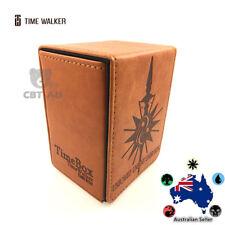Timewalker tw ORANGE SPEAR DECKBOX Deck Box MTG Magic Yugioh Pokemon Card