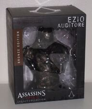Assassins Creed: Legacy Collection - Ezio Auditore Bronze Edition Bust New Boxed