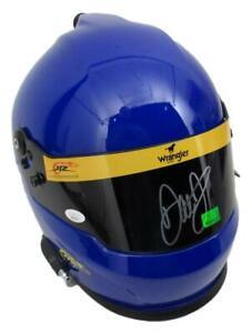 Dale Earnhardt Jr. Signed NASCAR Wrangler #3 Full-Size Racing Helmet JSA 158200