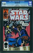 Star Wars #99 CGC 9.8 Marvel 1985 Han Solo! White Pages! G11 910 1 cm