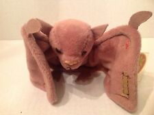 Ty Beanie Original Baby Batty the beige Bat NWMT