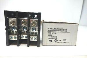 LITTELFUSE INC (LFD25703) ACS Dist Block 600V 175A 3 Pole *NEW* (FREE SHIPP)