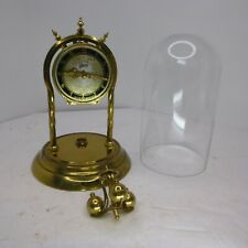 New Listing1950s Schatz Germany Anniversary Clock 53 Black Mechanical mini