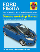 Ford Fiesta Haynes Repair Manual - Petrol & Diesel 2013 - 17